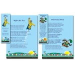 Scott Resources & Hubbard Scientific Number Street Super Hero Poster & Bookmark Set