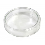 Flint Glass Petri Dish: 60 x 65 x 15 mm