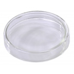Flint Glass Petri Dish: 75 x 82 x 15 mm