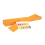 "Wide Range pH Teacher Demo Strips: 1"" x 9-1/2"""
