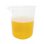 Polypropylene Graduated Beaker: 500 ml Capacity