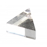 Acrylic Equilateral Prism: 25 mm x 12 mm