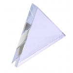 Glass Equilateral Refraction Prism: 75 mm x 9 mm