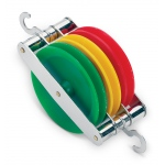 Ginsberg Triple Colored Pulley