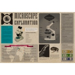 "Microscope Exploration Poster: 38"" x 26"""