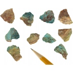 Scott Resources & Hubbard Chrysocolla: 10 Pieces