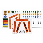 American Education Fraction Bars Activity Mats: Grades 3-4