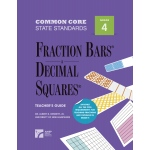 American Education Common Core State Standards: Fraction Bars and Decimal Squares, Teacher's Guide, Grade 4