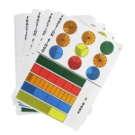 American Education Fraction Bars Activity Mats: Grades 1-2
