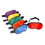 American Educational Blindfolds: Set of 6 Colors