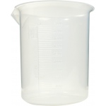 American Educational Beaker Graduated Polypropylene: 2000 ml Capacity