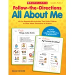 Scholastic Teaching Follow-the-Directions All About Me