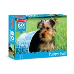 Puppy Pail Cardboard Jigsaw - 60 Pieces