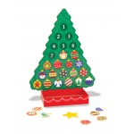 Countdown to Christmas Wooden Religious Advent Calendar