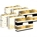 24k Gold Legal File Folders 2 Pk 18 Total Folders