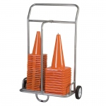 Cone And Scooter Cart Steel Wheels