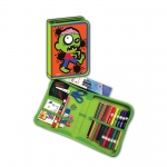 Zombie Designed All In One School Supplies Carrying Case 41 Pcs