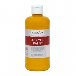 Acrylic Paint 16 Oz Deep Yellow