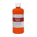 Acrylic Paint 16 Oz Chrome Orange