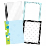 Chevron & Dots Paper Set