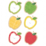 Apples 10in Cut Outs Upcycle Style