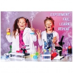 Experiment Fail Learn Repeat Poster