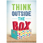Think Outside The Box Inspire U Poster