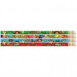 Gingerbread Man & Candyland 12pk Pencils