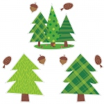 Woodland Friends 10in Cut Outs