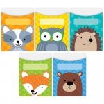 Woodland Friends Library Pockets Standard Size