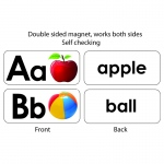 Abc Picture Words Double Sided Magnets