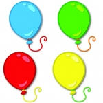 Balloons Cut Outs