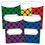 Plaid Library Pockets Multi Pack