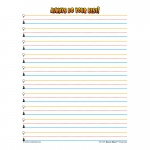 Superhero Smart Start Gr 1-2 Writing Paper 100 Sheets