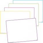 Blank Dry Erase Boards 10 St