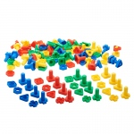 Twist & Lock Nuts & Bolts 64 Pcs