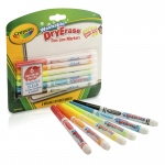 Crayola 6 Color Washable Dry Erase Markers