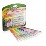 Crayola 12 Color Washable Dry Erase Markers