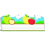 Color My World Tented Apple Name Plates