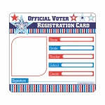 Voter Registration Card Cut Outs