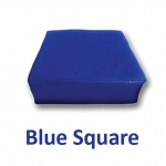 Blue Square Pillow