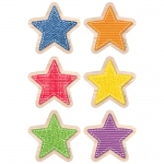 Upcycle Style Stars 3in Cutouts