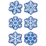 Snowflakes 3in Cutouts