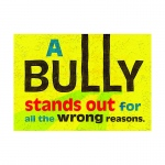 A Bully Stands Out Poster