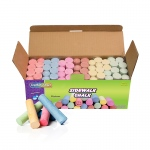 Sidewalk Chalk 52 Pcs Assrtd Colors