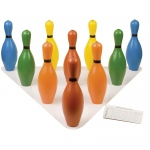 Bowling Pin Set Multi-Color