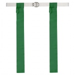 Flag Football Set 12 Green One Size Fits All Belts