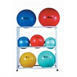 Ball Storage Cart Abs Mobile Holds 9  Fitness