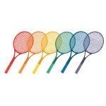 Plastic Tennis Racket Set