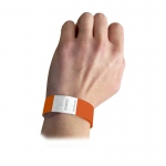 Security Wristbands Orange